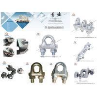 Us Type Malleable Steel/Carbon Steel /Stainless Steel /Drop Forged Wire Rope Clip