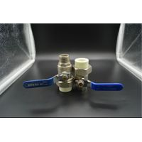 Yuhuan Male Brass Ball Valve with Body Forging