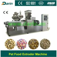 Extruder for Fish Dog pet food processing machine