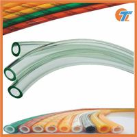 Factory high pressure clear pvc transparent hose