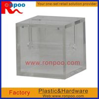 Mirrored Cubes, Perspex Acrylic Display Cases, Boxes & Cubes - Displays, Cosmetics Assembled Cabinet