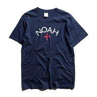 Noah Classic Cross T-shirt Navy