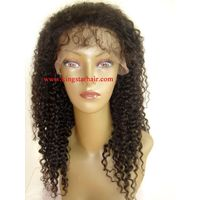 virgin remy indian human hair full lace wigs thumbnail image