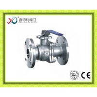 2PC ANSI Flanged ball valve
