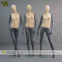 Female half torso foam mannequins with adjustable hands thumbnail image