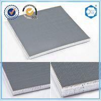 Microporous aluminum honeycomb core