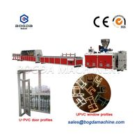 Plastic UPVC Window and Door profile extrusion machine thumbnail image