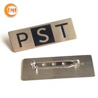 wholesale high quality customized metal logo badge