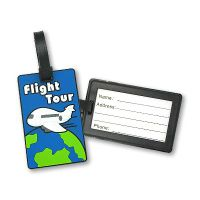 Customer luggage tag