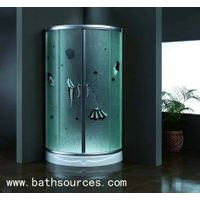 shower room /shower enclosure/shower cabin/shower cubicle/shower housewith 6mm toughened empaistic g thumbnail image