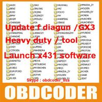 Launch X431 Diagun / GX3 / Master software upgrade update download via Email
