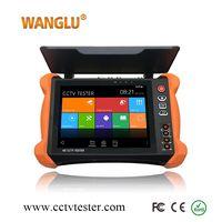 New 8 inch six in one IP Analog AHD TVI CVI SDI CCTV Tester monitor with Anti-sunlight Cover thumbnail image