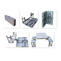 new design aluminum folding table