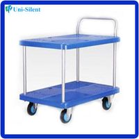 250KG light weight plastic trolley cart