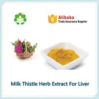 milk thsitle extract silymarin powder for liver health