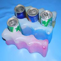 HDPE Reusable Gel Ice Pack In OEM Size
