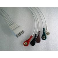 GE ECG Cable & Leadwire with 5 Leads,AHA
