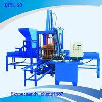 QTY3-20 small concrete paver block machine
