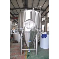 7BBL Dual Zone Conical Beer Brewing Fermenter