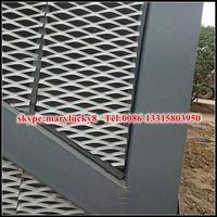 aluminum Expanded Metal Mesh curtain wall mesh