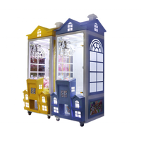 New roof doll coin-operated hanging gift British wind house clip doll game machine thumbnail image