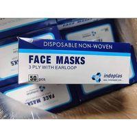 Medical Grade Non Woven 3-Ply Disposable Surgical Face Masks