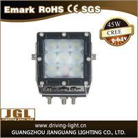 hot sale 30w/45w/60w/80w led work light offroad for heavy duty machinery
