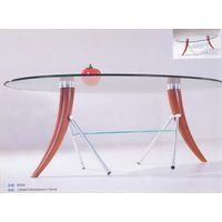 Coffee Table,Glass Coffee Table,Round Coffee Table,Contemporary Table