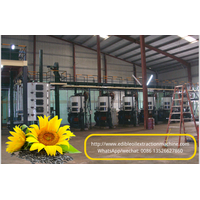 Low oil residual sunflower oil extraction machinery