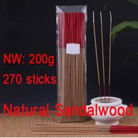 Natural Australia Sandalwood Bamboo Stick incense Joss Sticks Buddhist Temple santalwood Incense Sti