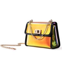 Fashion Holigraphic Chain Crossbody Bag with two sets