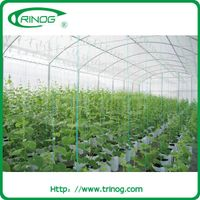 Low cost tunnel greenhouse for agriculture