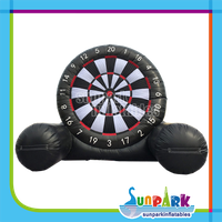 Inflatable Football Darts Board, Giant Inflatable Foot Dart Game