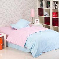 Noeffie Home Textile 100% Cotton Twill Bedding sets Flat Sheet Duvet Cover