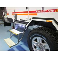 Electric Folding ladder for Van and Motorhomes