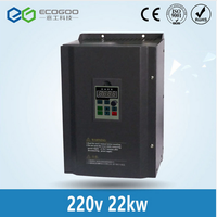 Hot 22KW 30HP 400HZ VFD Inverter Frequency converter single phase 220v input 3phase 380v output 46A thumbnail image