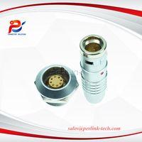 FGG.2K.308.CLAD82 metal brass push-pull self-locking plug (K series)