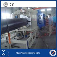 CE certificate HDPE pipe making  machine