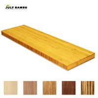 Carbonized Bamboo Plywood 38mm Bamboo Kitchen Worktop