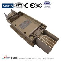 Compact busbar trunking system