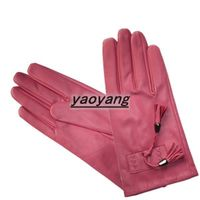2013 beautiful style and fashion good quality women sheep leather gloves YYLL068