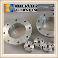 ANSI B16.5 Forged flange Gr2 Titanium flange china manufacturer supplier