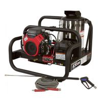 NorthStar Gas Hot Water Pressure Washer Skid - 4,000 PSI, 4.0 GPM, Honda Engine