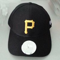 Hot sale brand 100% acrylic fabric baseball cap with custom P embroidery