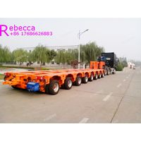 Heavy haul trailers hydraulic steering modular trailer heavy equipment transportation