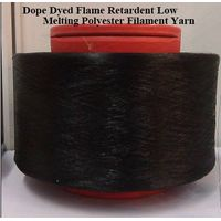 Dope Dyed Flame Retardent Low Melting Polyester Yarn