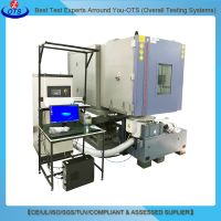 Combined Environmental Chamber Temperature & Humidity Vibration Integrated Climatic Testing System