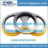 Concrete pumps Schwing spare parts wear plate thumbnail image
