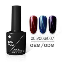 Easy apply and soak off UV/LED cat eyes gel nail polish
