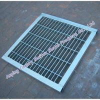 galvanized steel grating cover trench